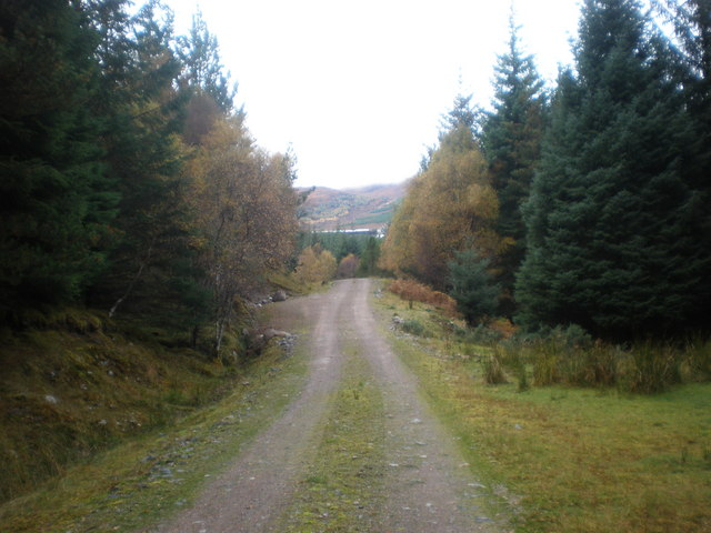 Track heading for Garbh Dhoire