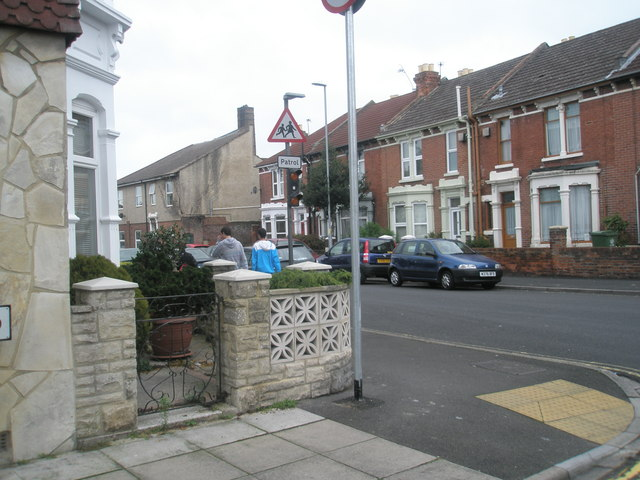 Junction of  Wadham Road and Gladys Avenue