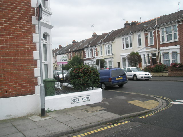 Looking from Oriel Road out into Gladys Avenue