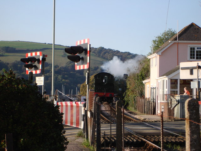 Steam Train, Kingswear Ferry Crossing