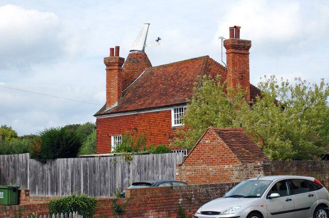 Oast House at The Round House, Tudeley Lane, Tudeley, Kent