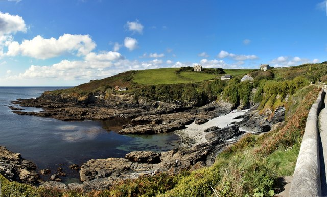 Panorama of Bessy's Cove, Prussia Cove