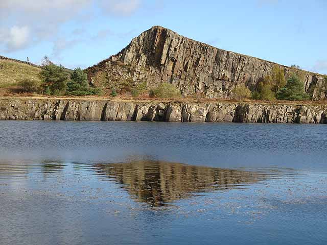 Reflections at Cawfield Quarry