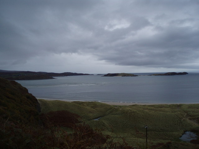 Coldbackie looking over to Rabbit Islands
