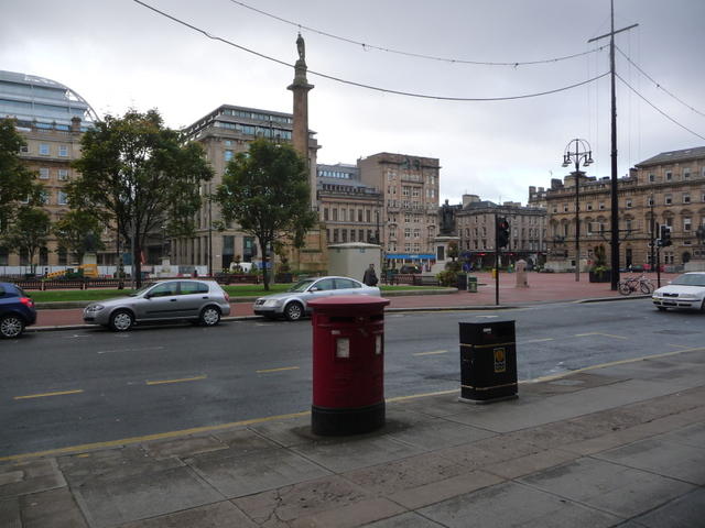 Glasgow: postbox № G2 1508, George Square
