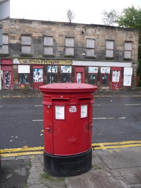 Glasgow: postbox № G2 748, George Street