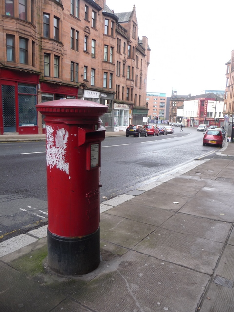 Glasgow: postbox № G4 1515, High Street