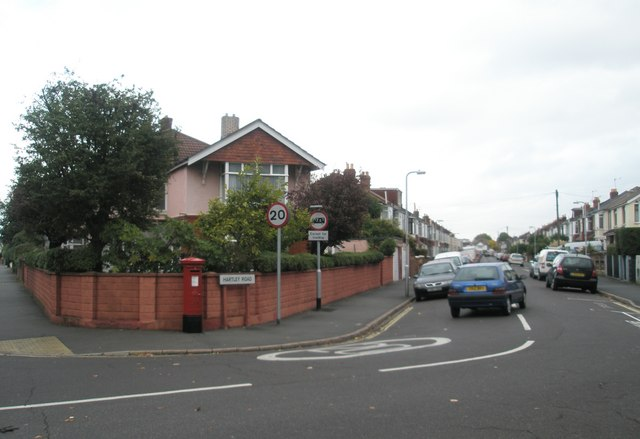 Postbox in Hartley Road
