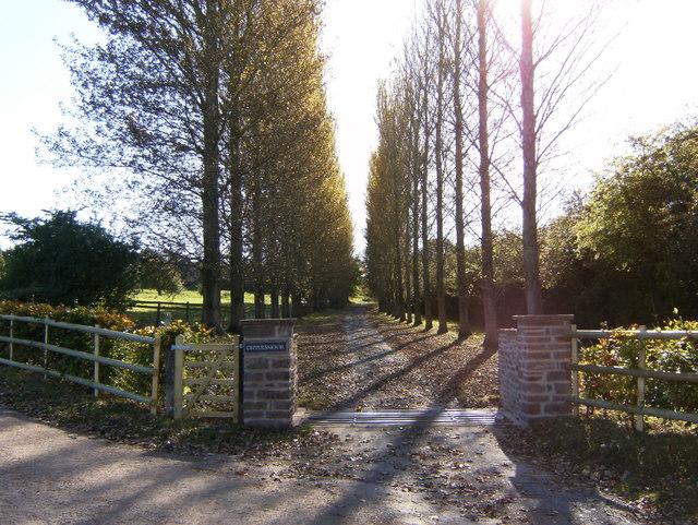 Entrance to Dippersmoor Farm