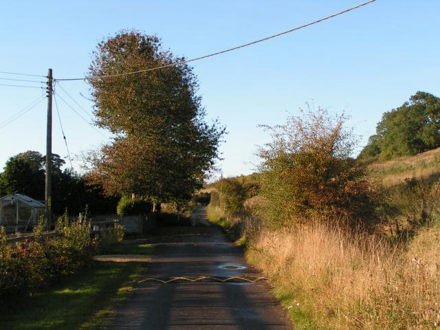 Lane at The Hammonds, College Fields, Marlborough