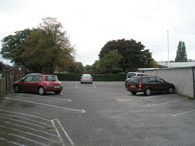 Car park at Alexandra Bowls Club