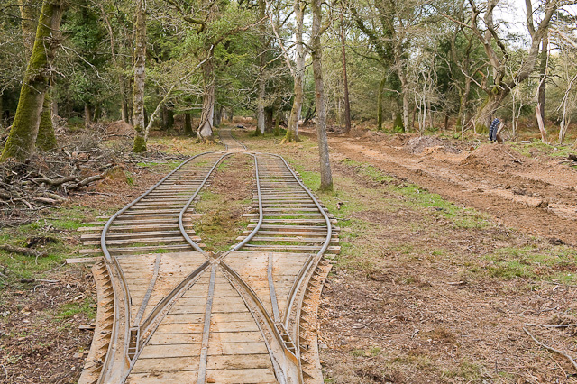 Warwickslade Cutting: running the railway