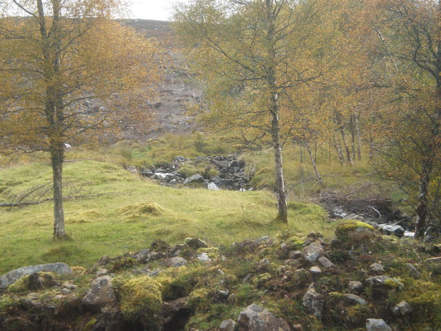 Allt Bealach Odhar tributary coming down from Carn Dearg