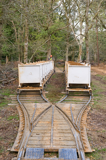 Warwickslade Cutting: running the railway