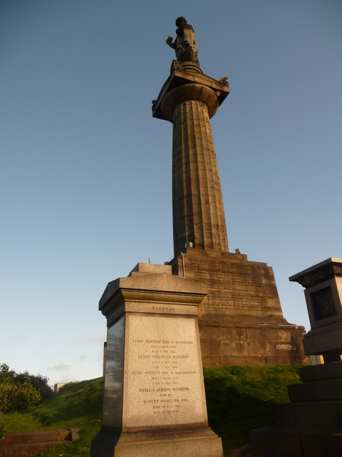 Glasgow: the John Knox memorial
