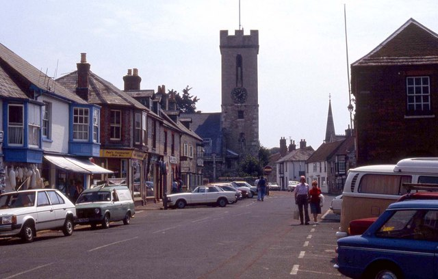 St James' Street in Yarmouth