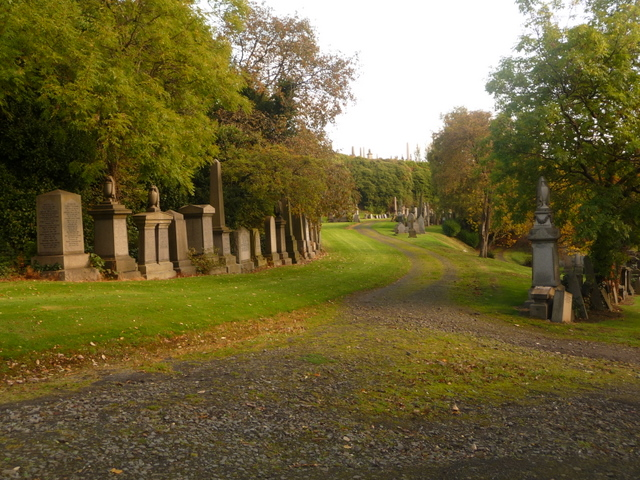 Glasgow: lower part of the Necropolis