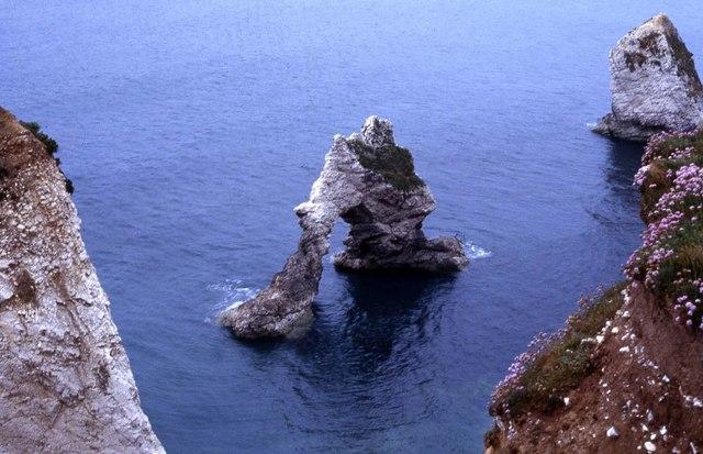 Arch Rock in Freshwater Bay
