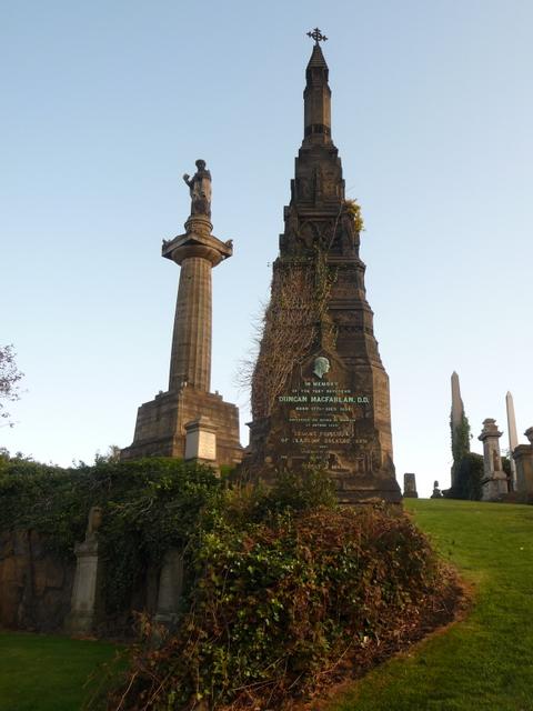 Glasgow: Duncan MacFarlan memorial