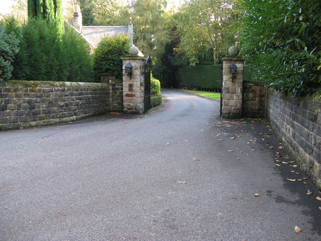 Entrance to Ashdown Park Hotel