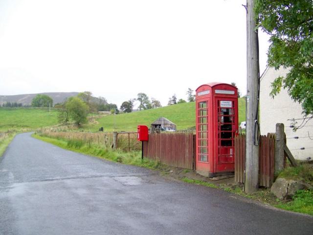 Telephone box, Blacklunans