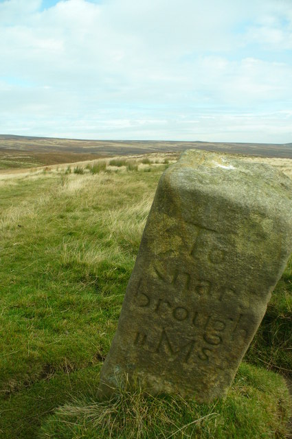 Middleton Moor Milestone