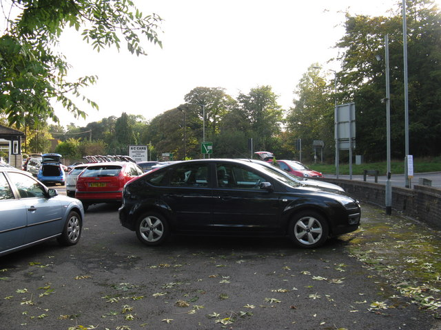 Car sales at Wych Cross