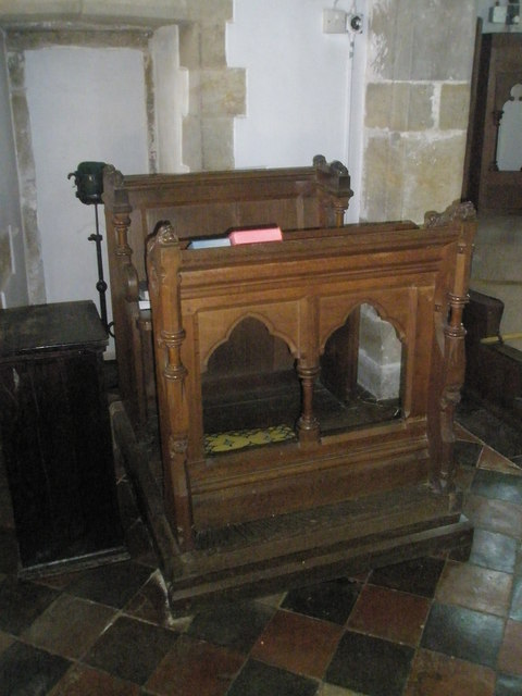 The incumbent's chair at St Peter, Terwick