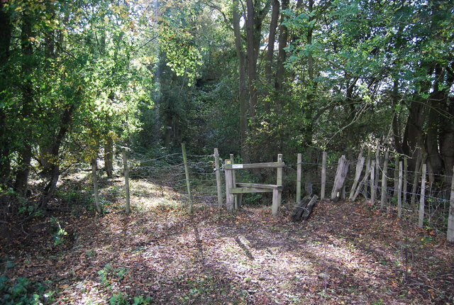 Stile on the edge of Home Covert