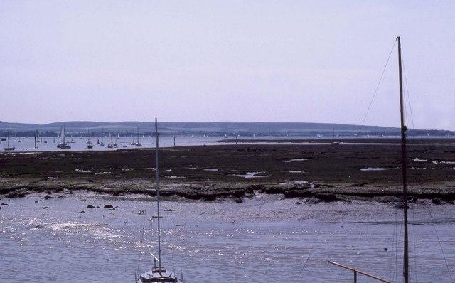 Salt-marsh near Lymington