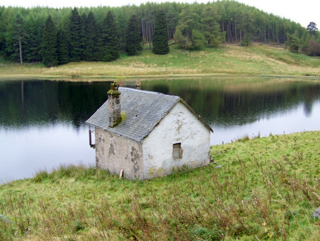 Boathouse, Drumore Loch