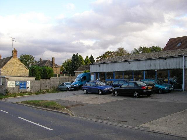 Greetham Garage, Main Street