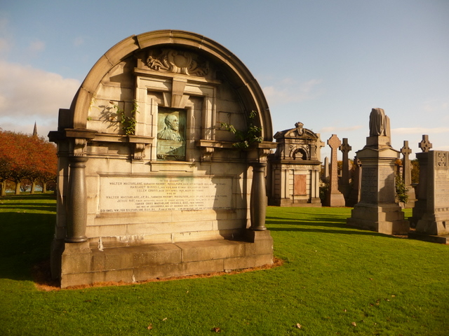Glasgow: Walter MacFarlane mausoleum