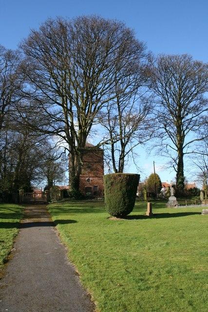 Churchyard, East Harlsey