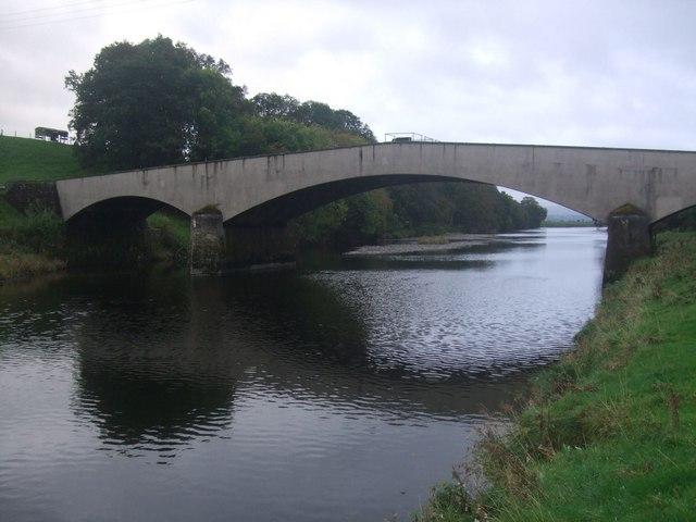 Pipe Bridge over the River Lune