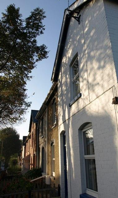 Houses on Lymington Road, Torquay