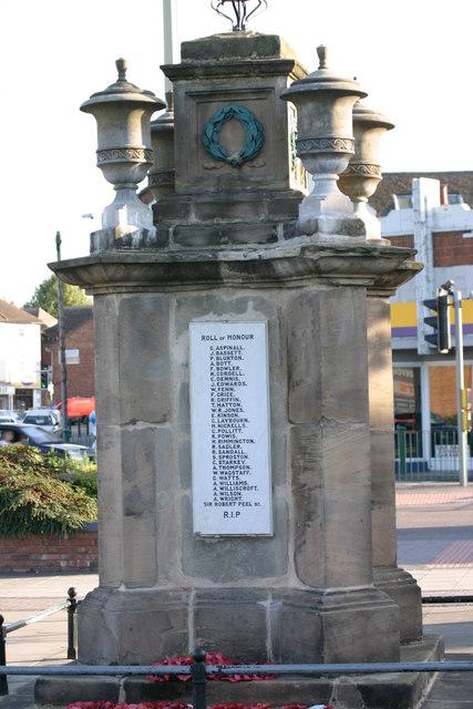 Fazeley War Memorial  (10)