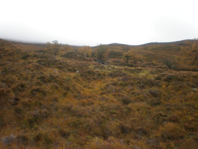 Allt Ghormaig coming down from Meall Dubh