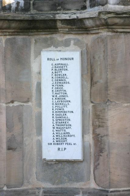 Fazeley War Memorial  (11)