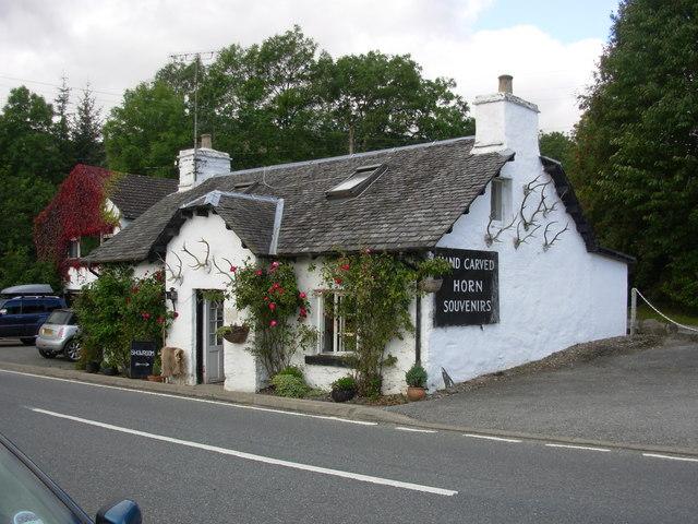 Souvenir Shop by Loch Tay
