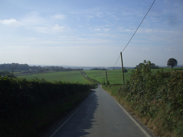 The road from Pen-y-lan to Michaelston-y-Fedw