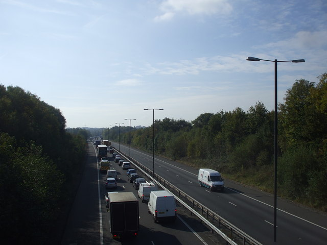 Congestion on the A48(M)