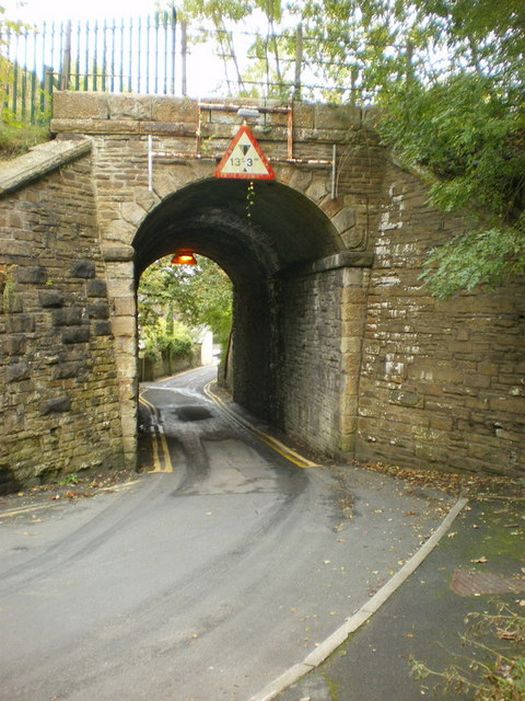 Railway bridge over Rock Lane