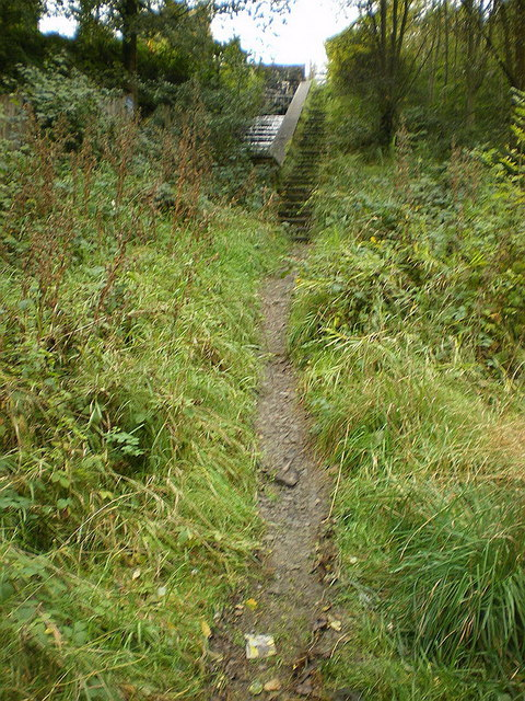 Footpath off Rock Lane