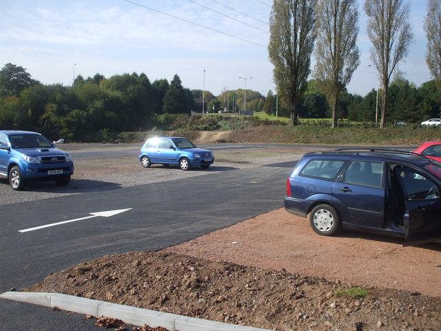 New extension to the Garden Centre car-park