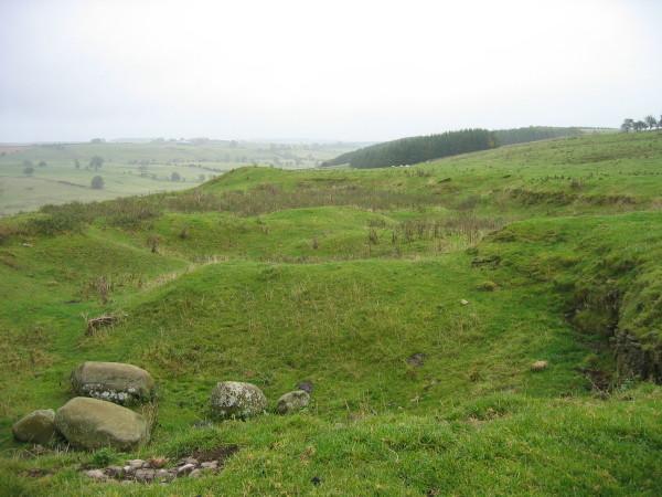 Disused quarry near Fox Covert