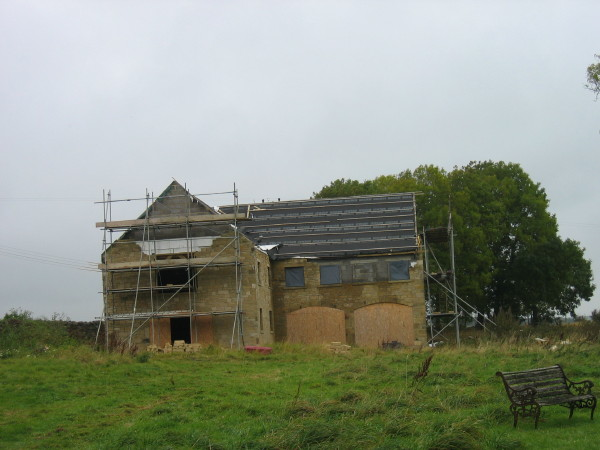 Converted outbuildings at Shellbraes