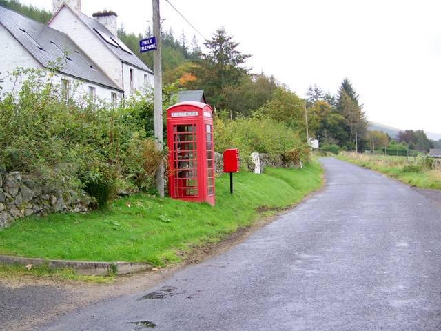 Telephone box, Folda
