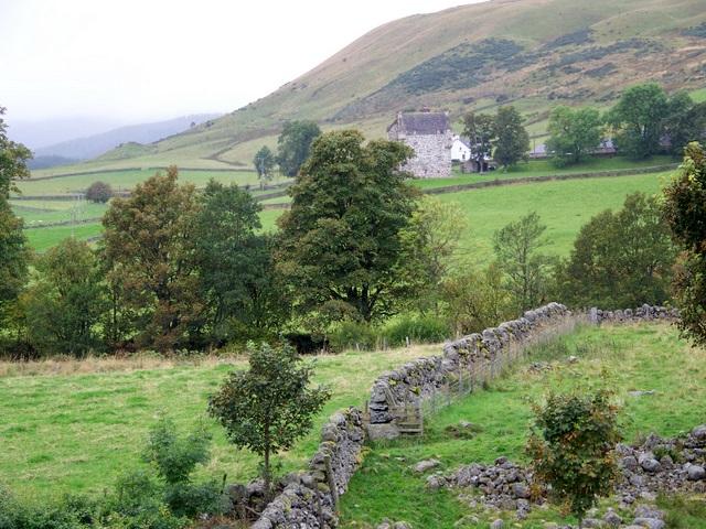 Stone walls and rough grazing, Folda