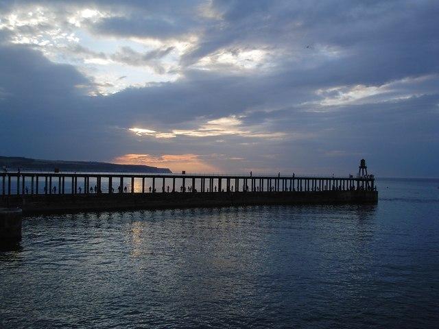 Fishermen, Whitby Pier